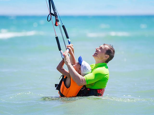 lekcje kitesurfingu - iKite Szkoła kite Hel
