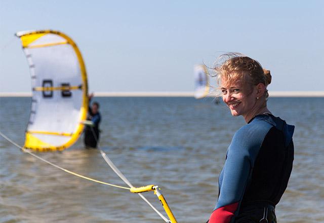 Lekcje Kitesurfingu
